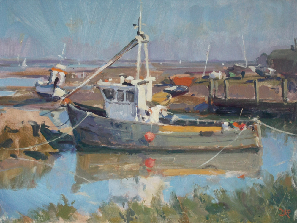 Moored at Brancaster Staithe