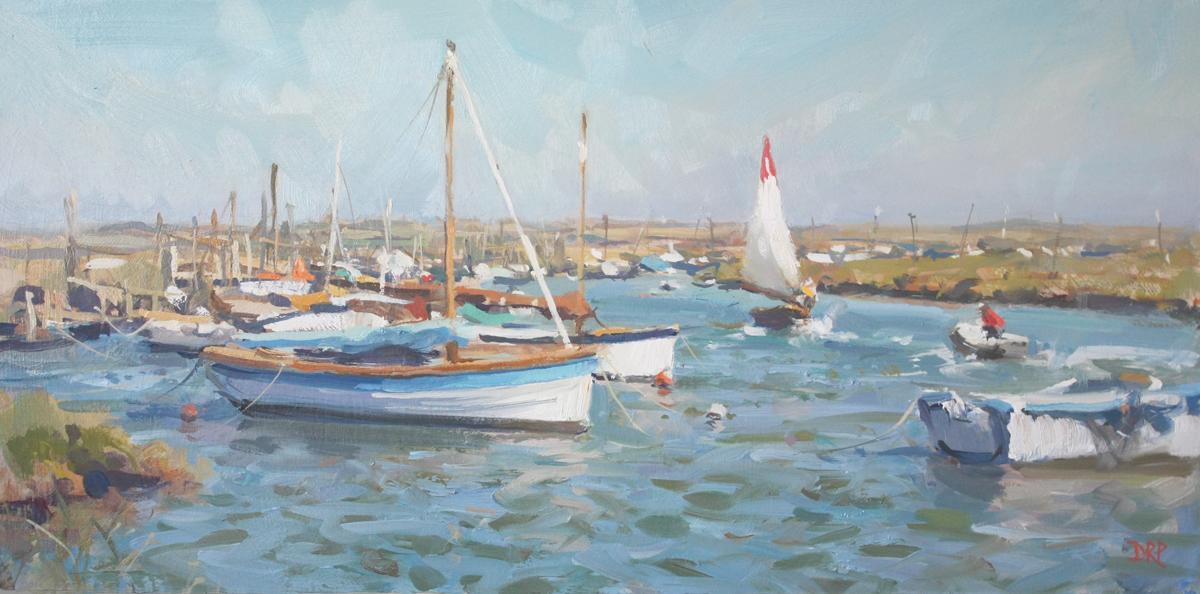 High tide and a stiff breeze, Morston