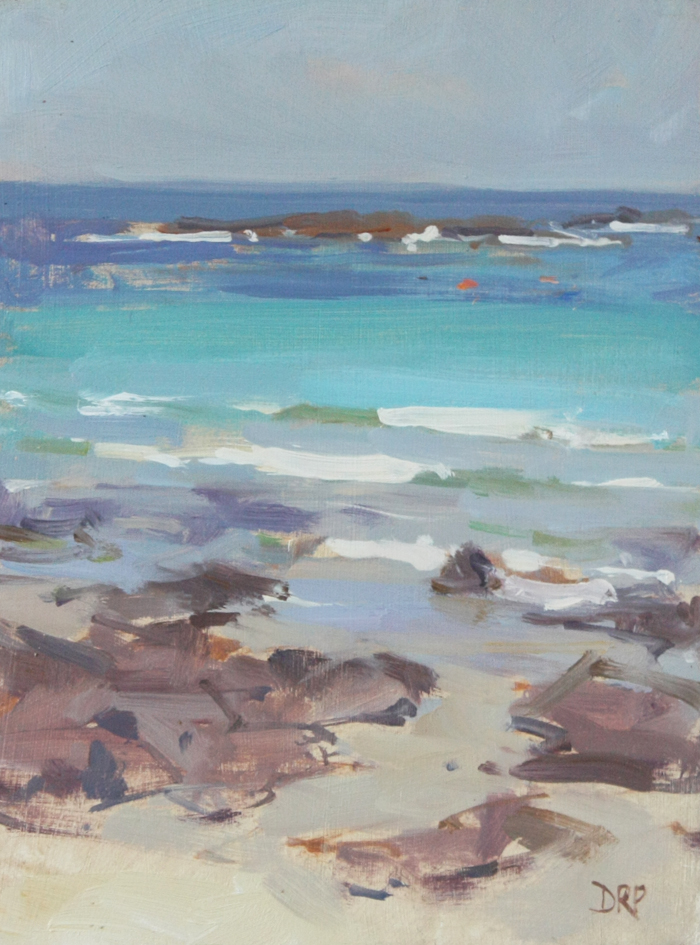 Out to sea, Sennen