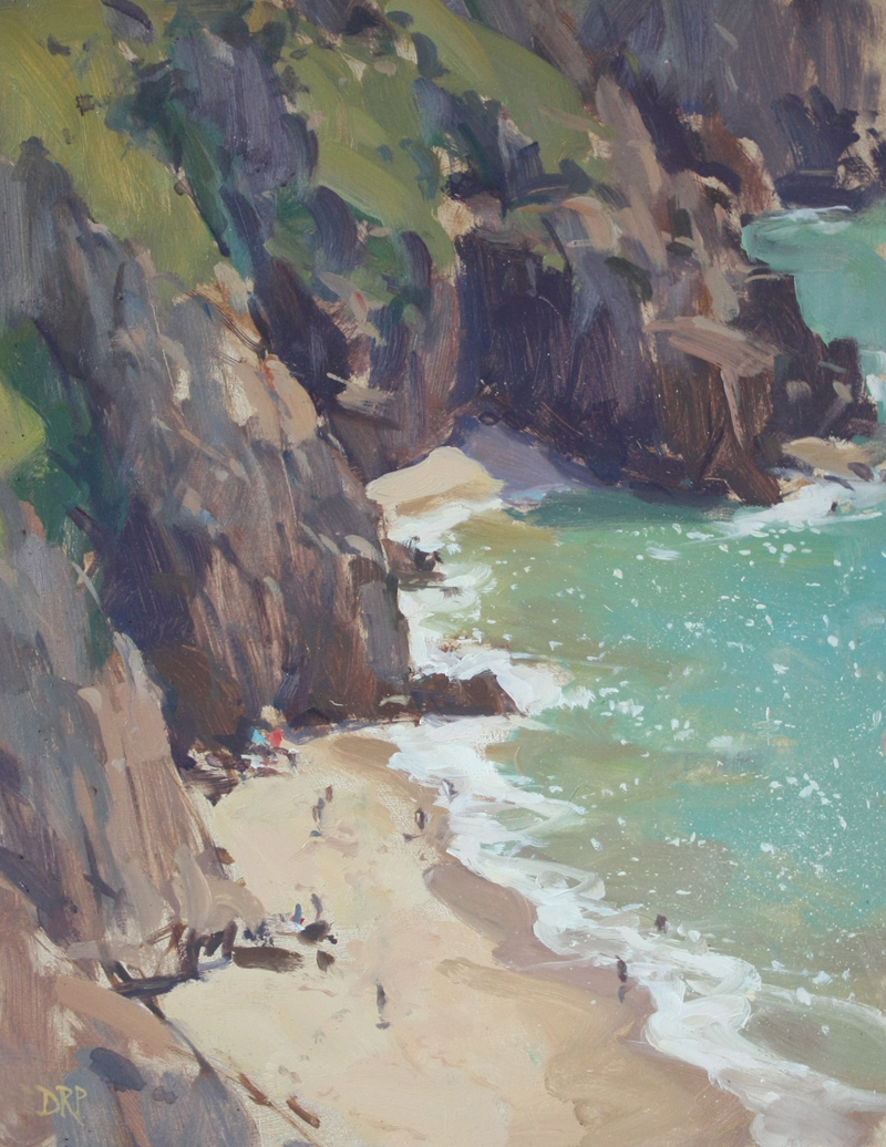 From the cliffs Porthcurno