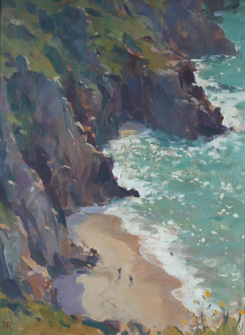 From Treen cliffs, Porthcurno