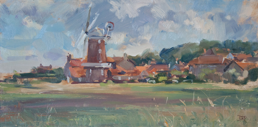 Bright and breezy, Cley Mill