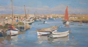 High tide hustle and bustle, Morston