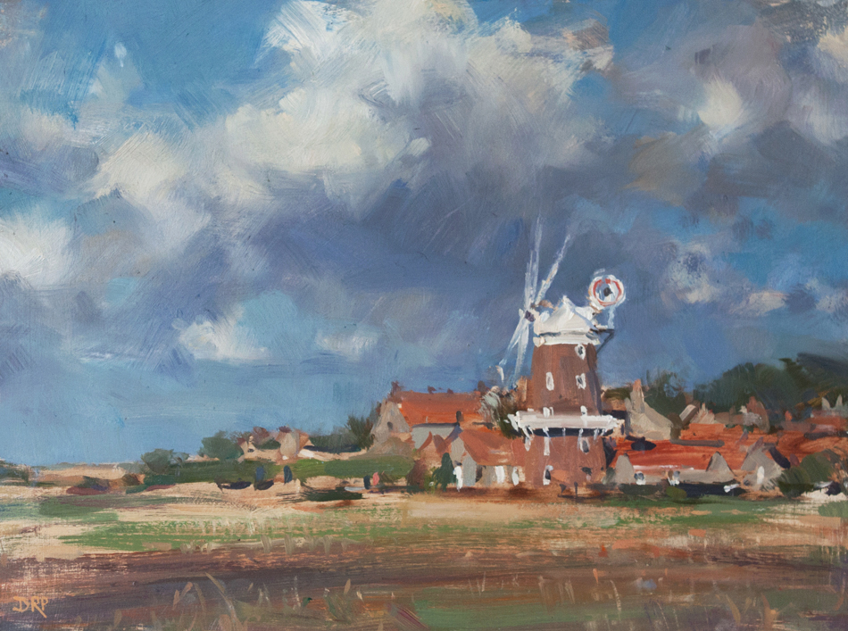 Gathering Clouds, Cley Mill